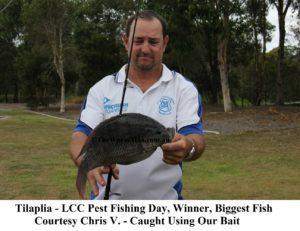 LCC Pest Fishing Day Winner - Courtesy Chris V